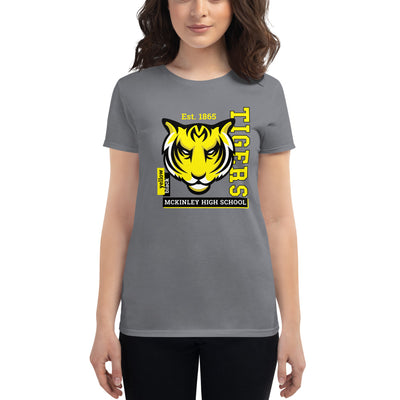 "McKinley Tigers - ""Black & Yellow"" - Women's Short Sleeve T-Shirt"