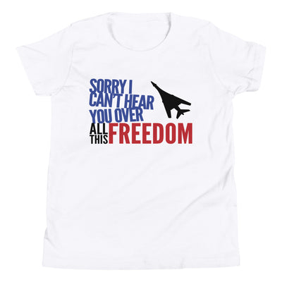 "34th Bomb Squadron - ""Sorry I Can't Hear You"" - Youth T-Shirt"