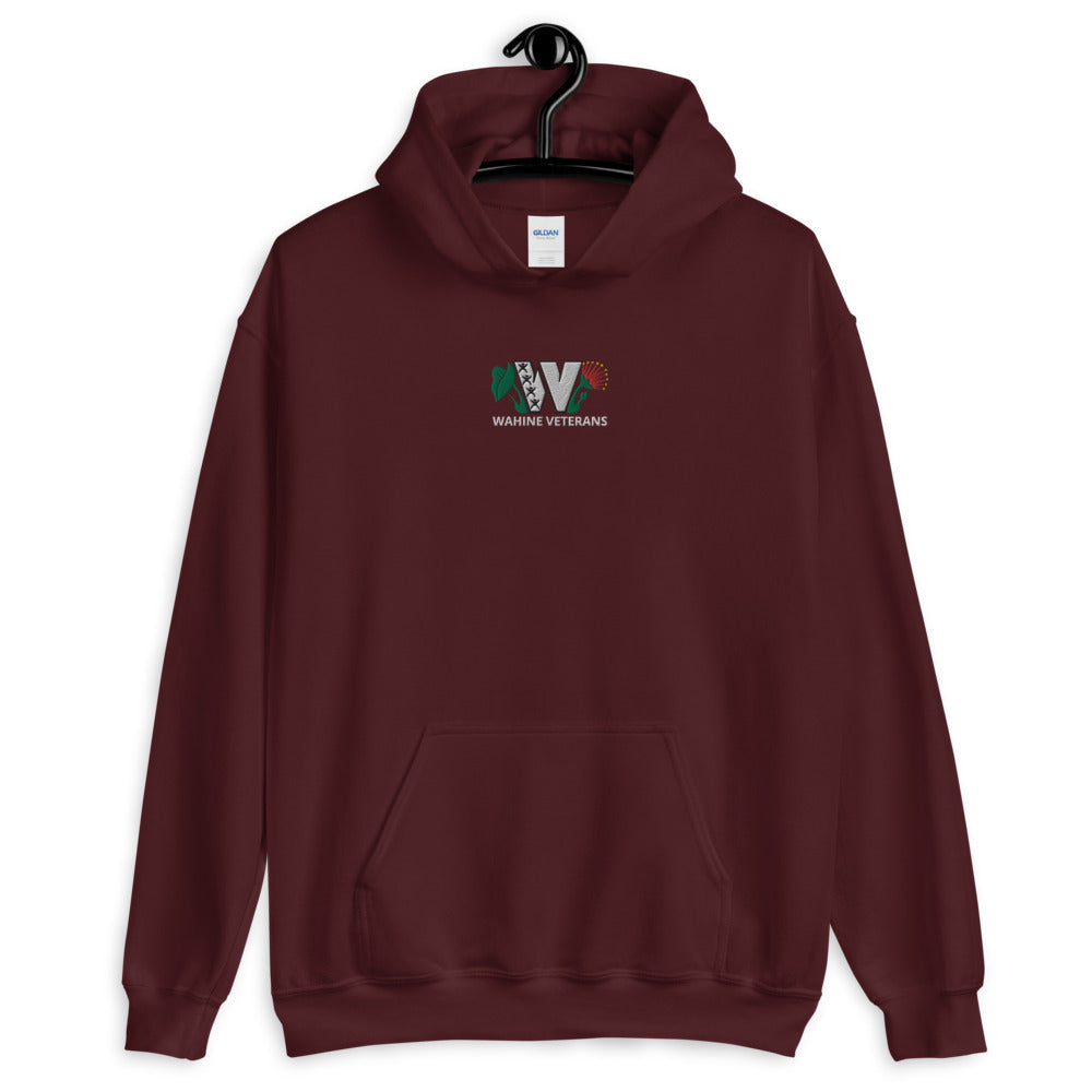 Wahine Veterans - Embroidered Logo Hoodie