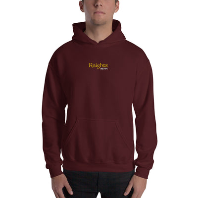 "Castle Knights - Embroidered ""Knights 96744"" - Hoodie"