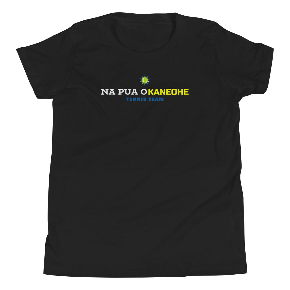 Na Pua O Kaneohe - Tennis Team - Youth Short Sleeve T-Shirt