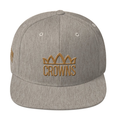 Crown's Baseball - Gold Collection - Snapback Hat