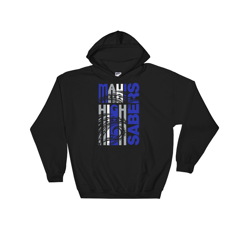 Maui High - Sabers - Hooded Sweatshirt