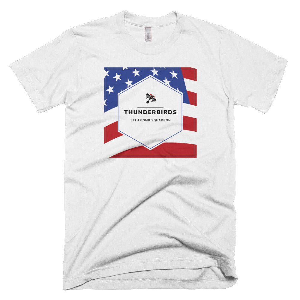 34th Bomb Squadron - Thunderbirds - 4th of July T-Shirt