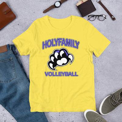 HOLY FAMILY CATHOLIC ACADEMY (HFCA) - 2019 PREMIUM GIRLS VOLLEYBALL BOOSTER T-SHIRT
