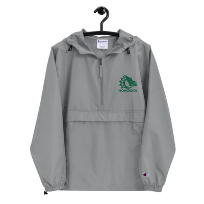 Honoka'a Dragons - Embroidered Champion Packable Jacket