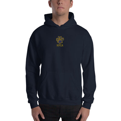 "Holy Family Catholic Academy - Embroidered ""HFCA - Wildcats"" - Unisex Hoodie"
