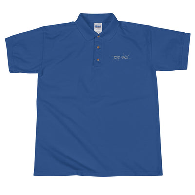 "Embroidered Polo Shirt - ""Reid"" Never Forgotten"