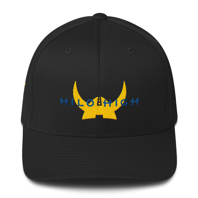 Hilo High - Vikings - FlexFit Baseball Cap