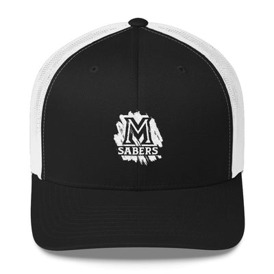 "Maui Sabers - ""Painted"" Design - Trucker Cap"