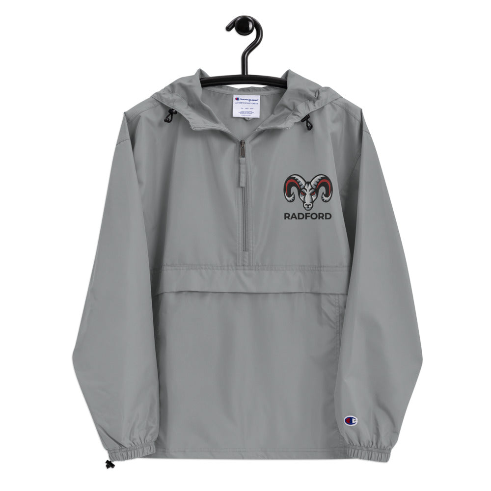 Radford Rams - Embroidered Champion Packable Jacket