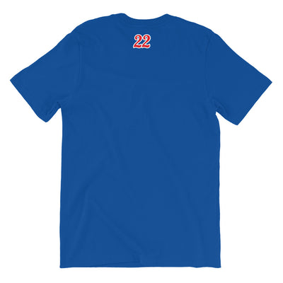 "Kaneohe Cubs - ""Line Drive"" - Personalized Short-Sleeve Premium T-Shirt"
