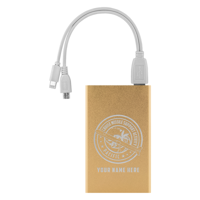 CRUISE MISSILE SUPPORT ACTIVITY PACIFIC (CMSA PAC) - POWER BANK - PERSONALIZED
