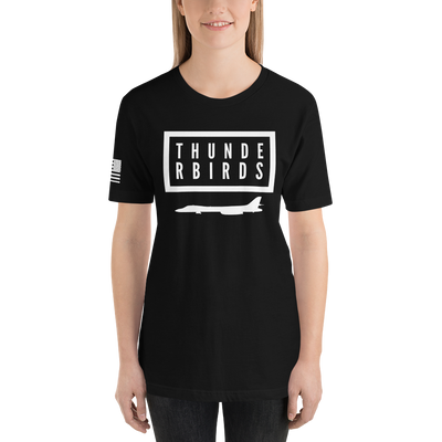 "34th Bomb Squadron - ""T-Birds"" - Short-Sleeve T-Shirt"