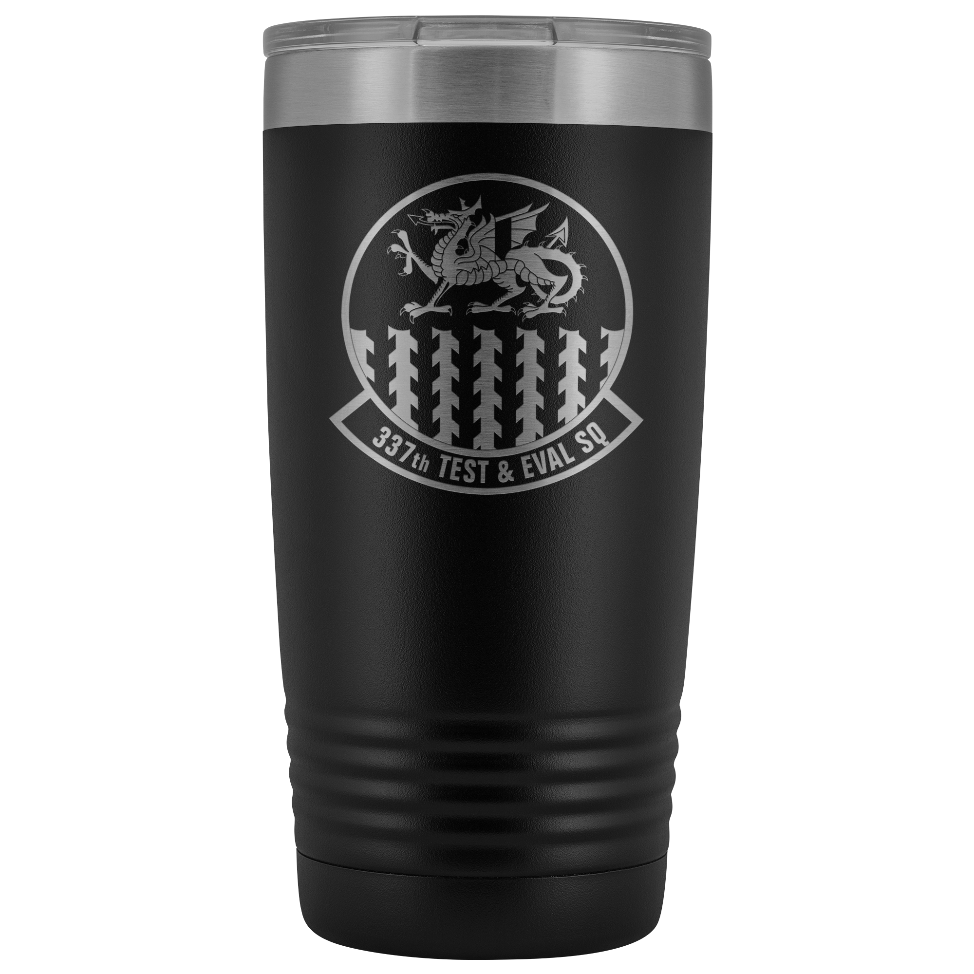 337th Test and Evaluation Squadron - 20oz Laser Etched Tumbler