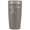 Honolulu Pearl Canoe Club - 20oz Laser Etched Vacuum Tumbler