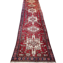 Load image into Gallery viewer, R76: Vintage Handmade Wool Tribal Oriental Runner
