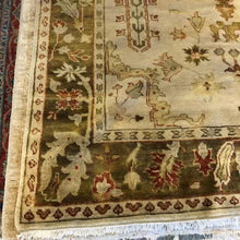 "Load image into Gallery viewer, R48: Handmade Oushak Style Rug 6'2"" x 8'10"""