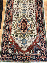 Load image into Gallery viewer, R92: Handmade Oriental Runner 3' x 10'9""