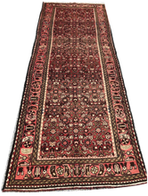 "Load image into Gallery viewer, R31: Vintage Wide Oriental Runner 3'11"" x 10'4"""
