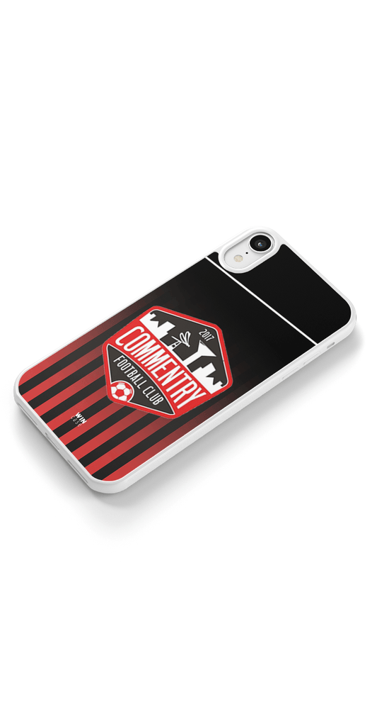 COMMENTRY FC LOGO - DOMICILE - WIN CASE