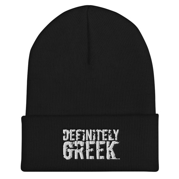 definitelyGREEK Beanie