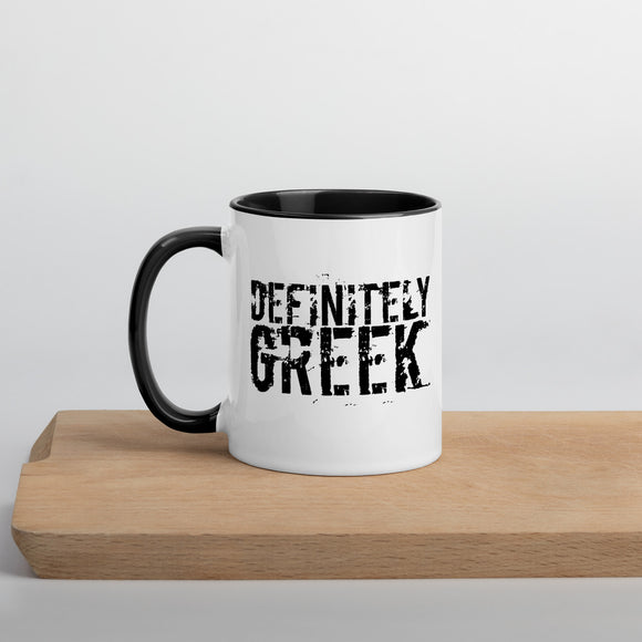 DefinitelyGREEK Mug