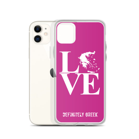 LOVE iPhone Cases (Pink)