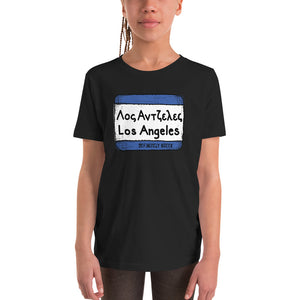"""Los Angeles"" Sign Youth Tee"