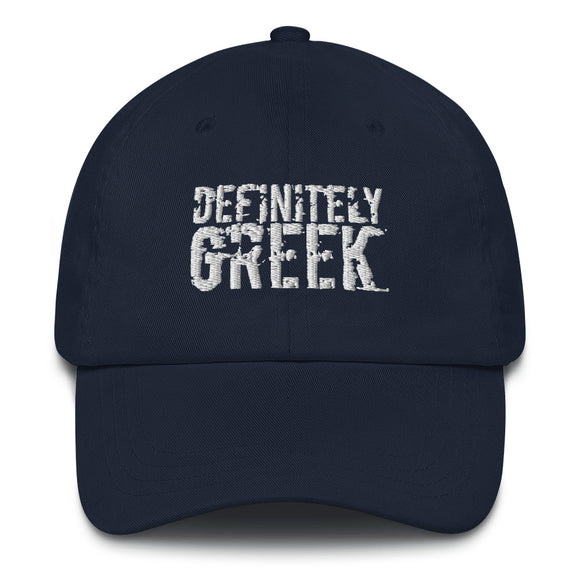definitelyGREEK Dad Hat