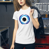 """Evil Eye"" Women's Slim Fit Tee"