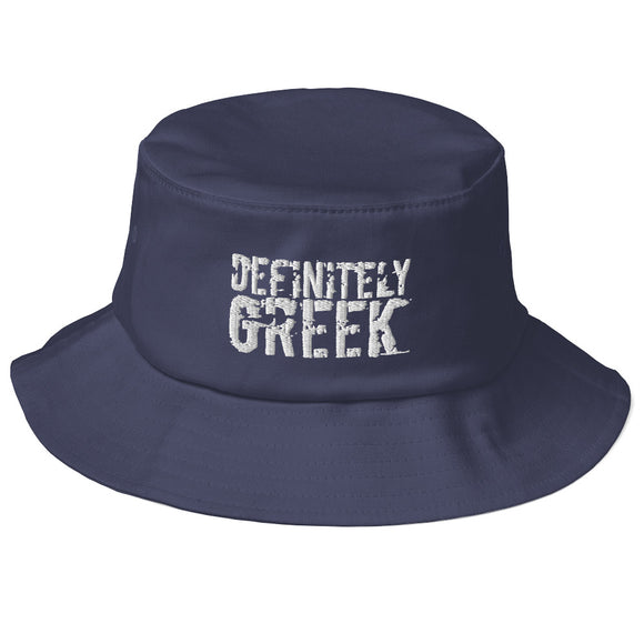 definitelyGREEK Bucket Hat