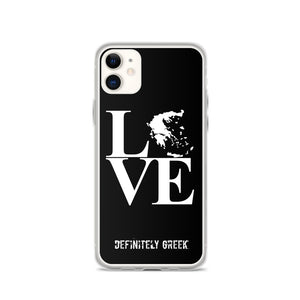 LOVE iPhone Cases (Black)