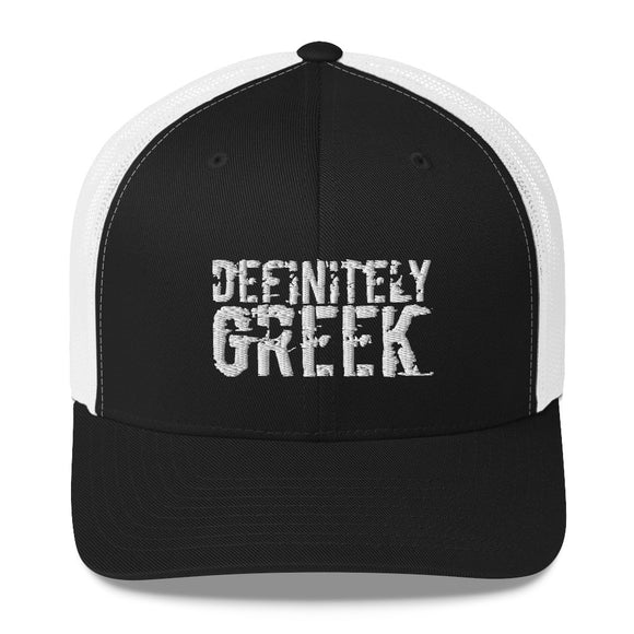 definitelyGREEK Trucker Hat