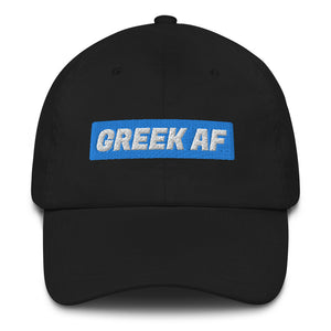 """Greek AF"" Dad Hat"
