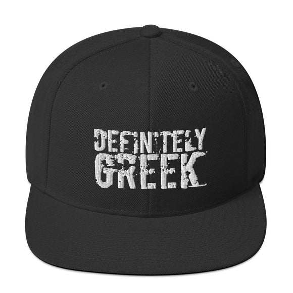 definitelyGREEK Snapback Hat