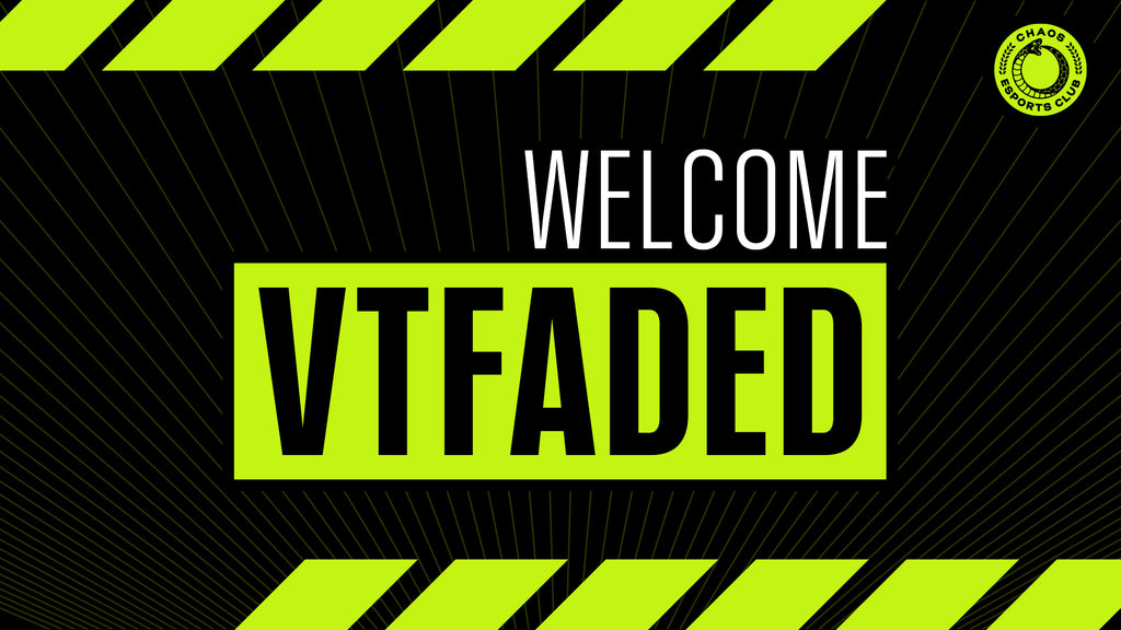 "Welcome Cheng ""vtFaded"" Jia Hao"