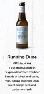 Brick By Brick Running Dune Witbier 330ml-Ctn of 24 Btls