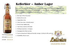 Load image into Gallery viewer, Leikeim Kellerbier (Amber Lager) 500ml LOOSE