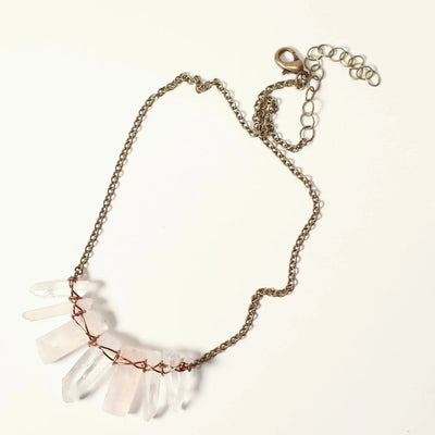 Rose Tigress Necklace