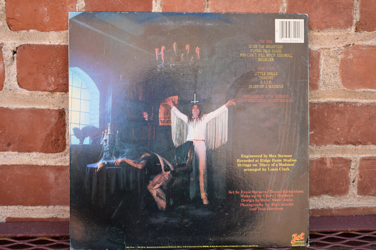 Ozzy Ozbourne, Diary of a Madman, 1980 US original press, vintage vinyl, record, classic rock