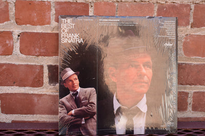 The Best of Frank Sinatra,  1979, vintage vinyl, record, classic, jazz, singer album