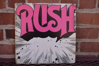 Rush, Debut Self Titile,  1981, vintage vinyl, record, classic rock