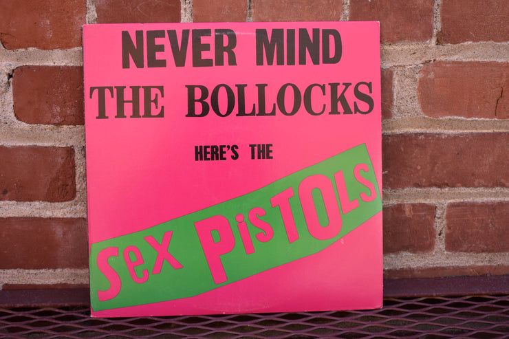 Sex Pistols, Never Mind The Bullocks, vintage vinyl, record, classic rock