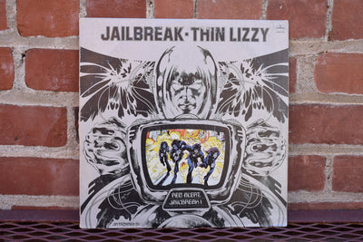 Thin Lizzy, Jailbreak,  1976 Original 1st Press Masterdisk, vintage vinyl, record, classic rock