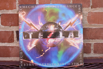 Tesla, Mechanical Resonance,  Vintage 1986 US Original Press, vinyl Lp, full album vintage record, Classic Rock