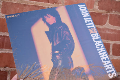 Joan Jett, Black Hearts, up your alley, 1988 sealed Vintage vinyl Lp, full album vintage record, Classic Rock