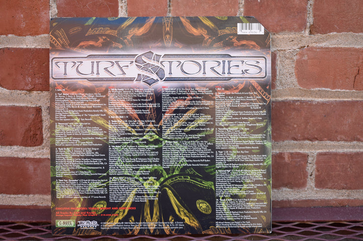 Turf Stories, various artists, lp record classic, vintage hip hop music