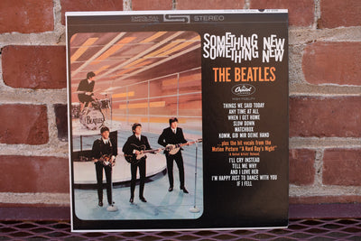 The Beatles, Something New, Vintage Vinyl album, lp record classic rock, music