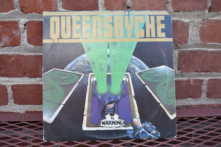 Queensryche; the warning, 1984 US pressing lp record classic rock, 80's music